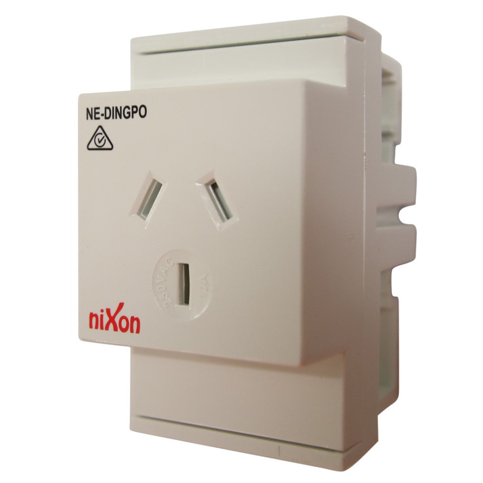 10AMP - Auto Switched - DIN Rail GPO