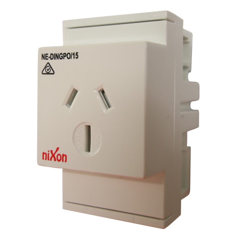 15AMP - Auto Switched - DIN Rail GPO