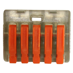 5 Leaver Terminal Cable Joining Block - 100 Pack