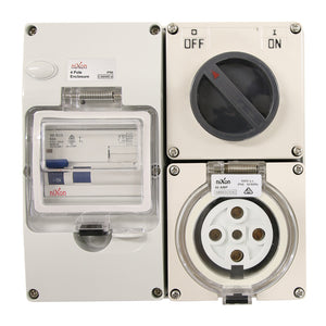 5PIN 40AMP - RCD Protected Combo!