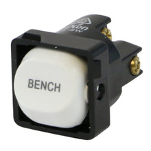 Load image into Gallery viewer, BENCH - White Switch Mechanism 250V 10AMP 1 way / 2 way