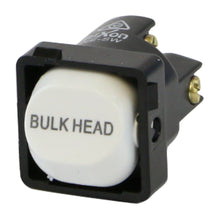 Load image into Gallery viewer, BULK HEAD - White Switch Mechanism 250V 10AMP 1 way / 2 way