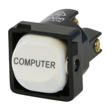 Load image into Gallery viewer, COMPUTER - White Switch Mechanism 250V 10AMP 1 way / 2 way