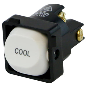 COOL - White Switch Mechanism 250V 10AMP 1 way / 2 way