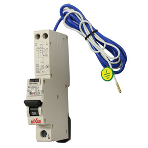 16AMP - RCBO with tail Single Module 10kA D Curve