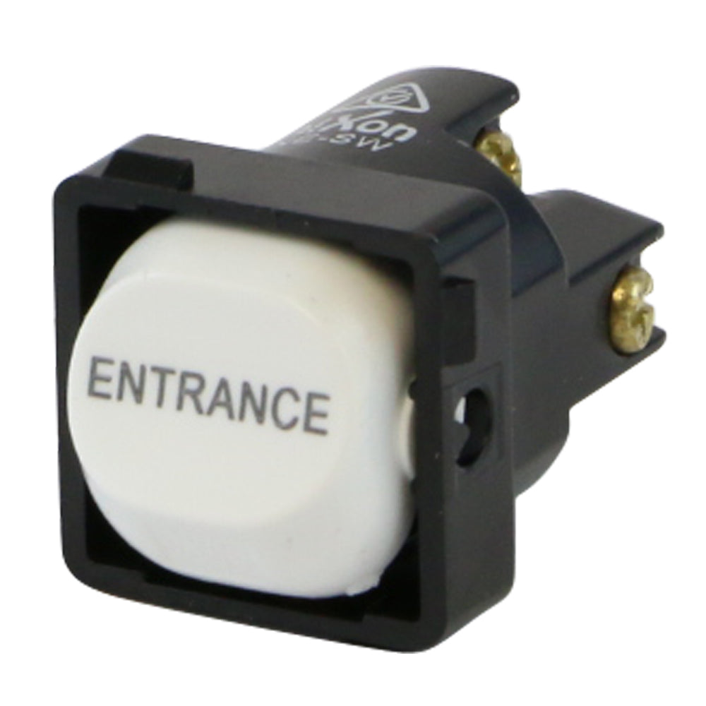 ENTRANCE - White Switch Mechanism 250V 10AMP 1 way / 2 way