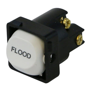 FLOOD - White Switch Mechanism 250V 10AMP 1 way / 2 way