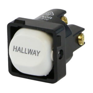 HALLWAY - White Switch Mechanism 250V 10AMP 1 way / 2 way