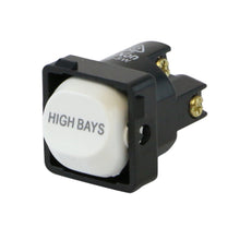 Load image into Gallery viewer, HIGH BAYS - White Switch Mechanism 250V 10AMP 1 way / 2 way