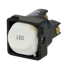 Load image into Gallery viewer, LED - White Switch Mechanism 250V 10AMP 1 way / 2 way