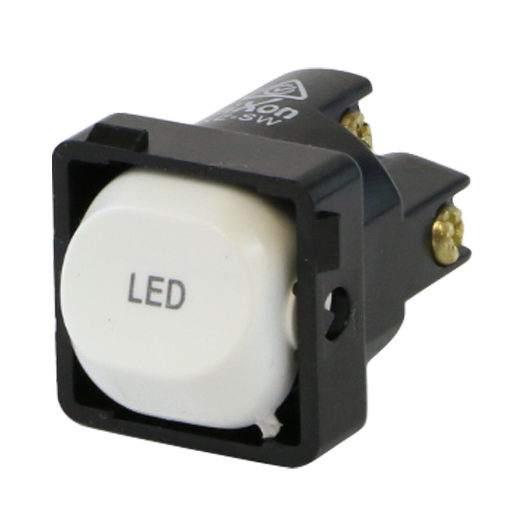 LED - White Switch Mechanism 250V 10AMP 1 way / 2 way