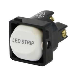 LED STRIP - White Switch Mechanism 250V 10AMP 1 way / 2 way