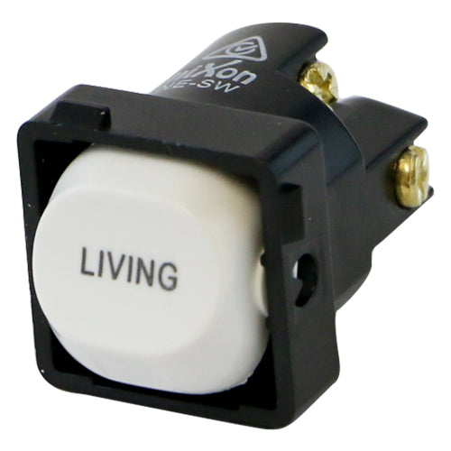 LIVING - White Switch Mechanism 250V 10AMP 1 way / 2 way