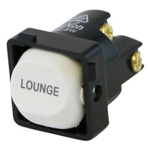 Load image into Gallery viewer, LOUNGE - White Switch Mechanism 250V 10AMP 1 way / 2 way