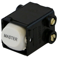 Load image into Gallery viewer, MASTER - White Switch Mechanism 250V 35AMP Double Pole
