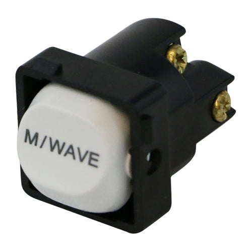 M/WAVE - White Switch Mechanism 250V 10AMP 1 way / 2 way