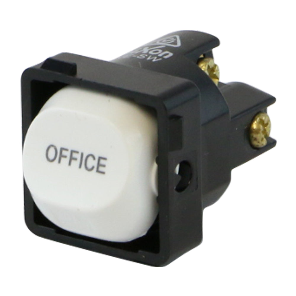 OFFICE - White Switch Mechanism 250V 10AMP 1 way / 2 way