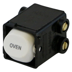 OVEN - White Switch Mechanism 250V 35AMP Double Pole