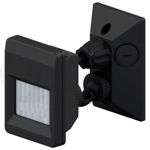 IP66 Outdoor Motion Sensor PIR - BLACK