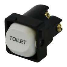 Load image into Gallery viewer, TOILET - White Switch Mechanism 250V 10AMP 1 way / 2 way