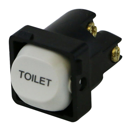 TOILET - White Switch Mechanism 250V 10AMP 1 way / 2 way