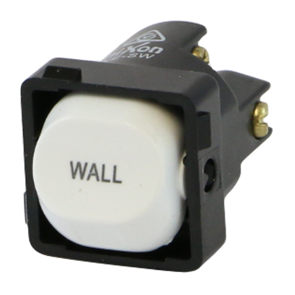 WALL - White Switch Mechanism 250V 10AMP 1 way / 2 way