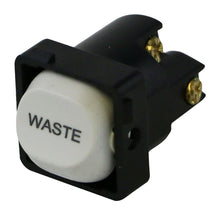 Load image into Gallery viewer, WASTE - White Switch Mechanism 250V 10AMP 1 way / 2 way