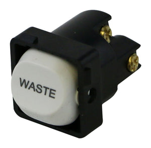 WASTE - White Switch Mechanism 250V 10AMP 1 way / 2 way