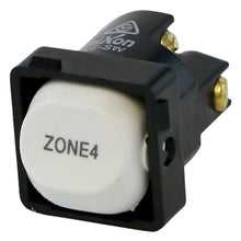Load image into Gallery viewer, ZONE 4 - White Switch Mechanism 250V 10AMP 1 way / 2 way