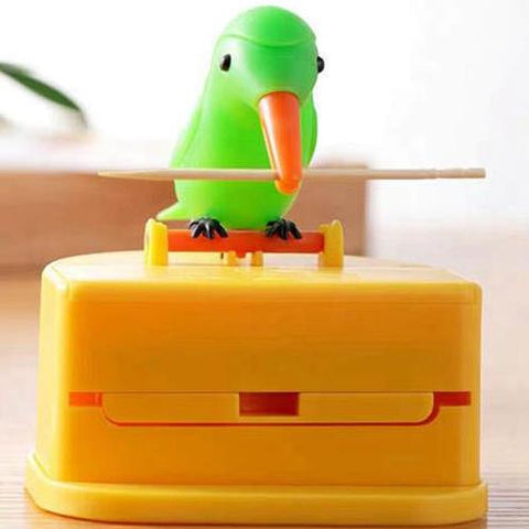BIRD Toothpick Dispenser ( Free 260 Toothpicks )