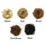 (New arrival-Red )Easy-To-Wear Stylish Hair Scrunchies