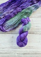 Load image into Gallery viewer, Lavender Fields - Handdyed Yarn by SkillfullyTangled