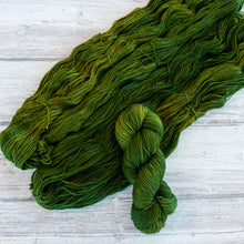Load image into Gallery viewer, Olive - Handdyed Yarn by SkillfullyTangled