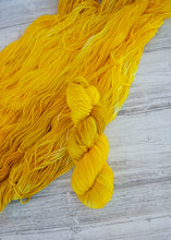 Load image into Gallery viewer, Sunflower - Handdyed Yarn by SkillfullyTangled