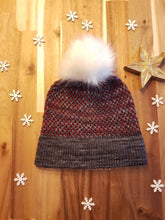 Load image into Gallery viewer, Two Tone Toque - Knitting Pattern by SkillfullyTangled