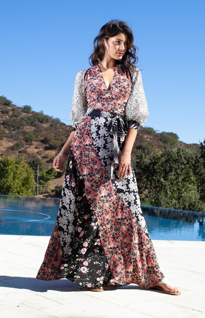 Maxi Swirl Dress