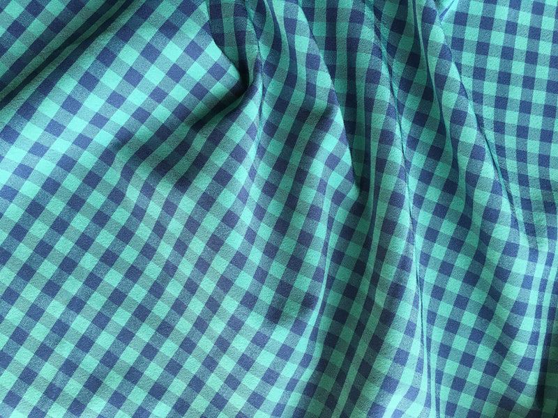 Green & Gray Gingham