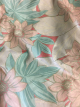 Pearlized Floral Print