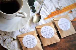 CUSTOM TEA FAVOR | Kraft | Assembled Artisan Handcrafted Tea Favors