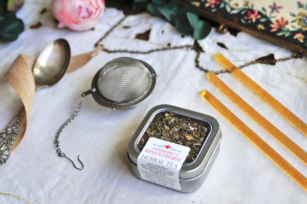 Tea Tin & Infuser Gift Set