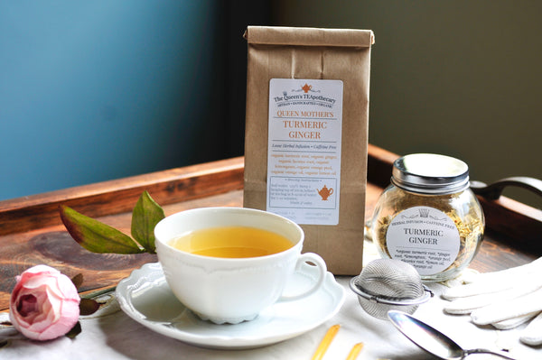 Turmeric & Ginger herbal infusion