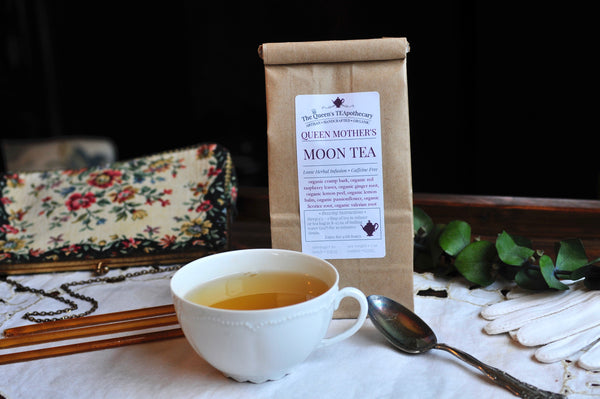 Queen Mother's Moon tea | Cramp Bark & Raspberry Leaves