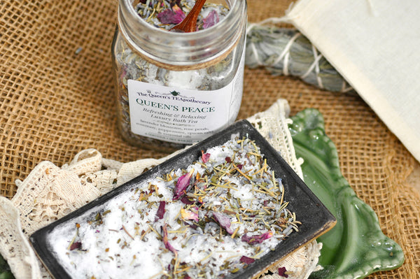 BATH TEA | Queen's Peace | Rose & Lavender