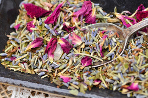 FACIAL TEA DETOX | Herbal Steam | Red Clover | Lavender | Rosemary | Peppermint | Rose Petals | Spa Gift Set