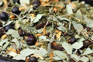 FACIAL TEA RESPIRATORY | Herbal Steam | Eucalyptus | Orange Peel | Clove | Sage | Juniper Berry | Thyme | Spa Gift Set