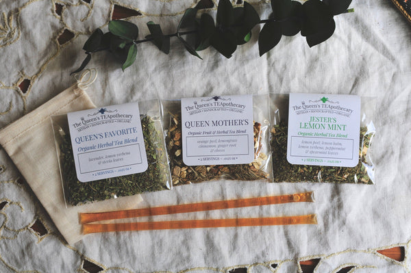 Caffeine | Loose Tea Sampler Kit | 7 ct