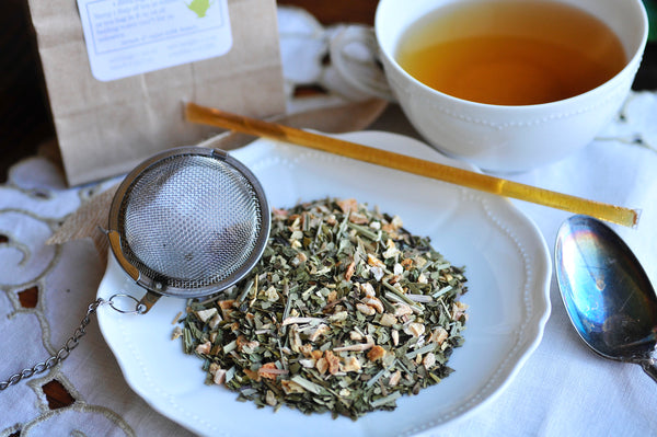 Healer's Yerba Mate tea | Lemon & Ginger