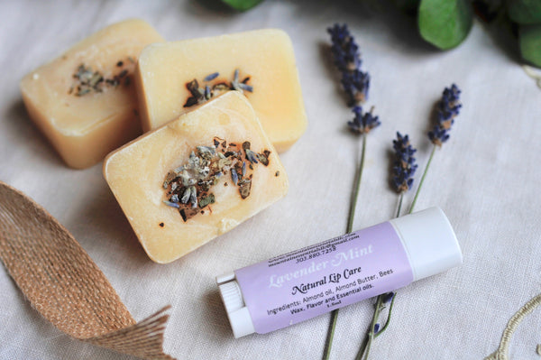 LAVENDER MINT SOAP | mini