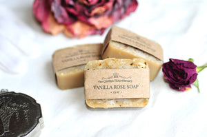 VANILLA ROSE SOAP | mini