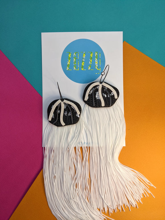 Fringe Jellies - Monochrome